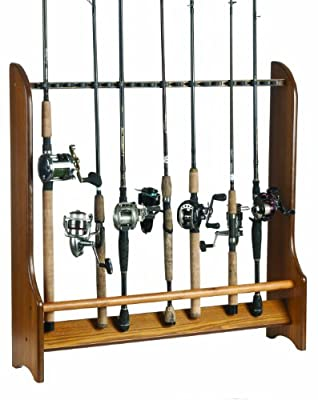 Organized Fishing 20 Rod Floor Rack by Organized Fishing