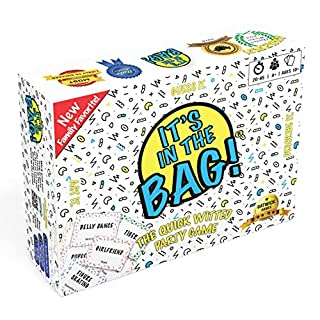 It's in The Bag! – Amazing Party Games for Adults, Family, or Large Group – Collaborative Team Building Game – Great Game Idea for Party for 10 People or More