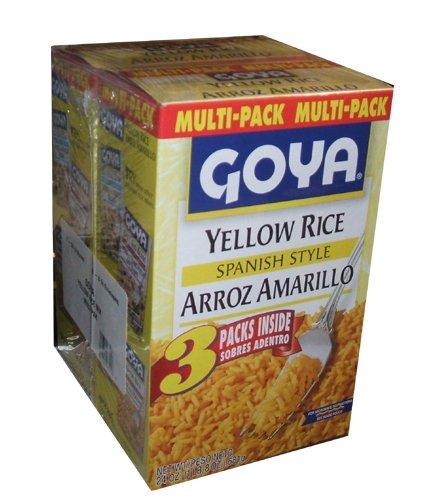 Amazon Goya Spanish Style Yellow Rice Arroz Amarillo 24 Ounce
