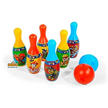 PAW PATROL - Set Bolos plástico (Saica 7438)