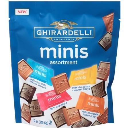 Ghirardelli Assortment Chocolate caramel Individually