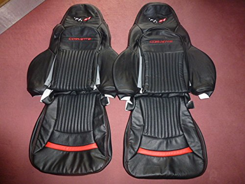 (Interior Innovations Custom Genuine Leather Seat Covers for Sport Seats with Corvette and C5)