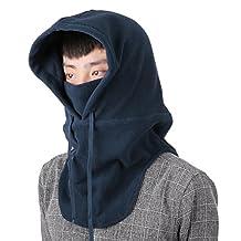 DAS Leben Winter Wind Proof Balaclava Face Mask - Ski, Snowboard, Motorcycle, Face and Neck Protection Bundle