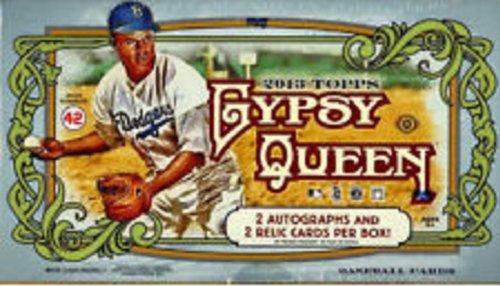 2013 Topps Gypsy Queen Hobby Baseball Box Bats Baseball Hobby Box