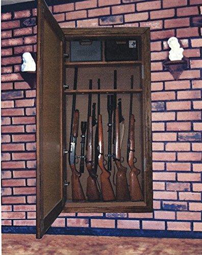 amazoncom in the wall mirror gun cabinet hardware kit sports u0026 outdoors