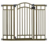 #4: Summer Infant Multi-Use Deco Extra Tall Walk-Thru Gate, Bronze