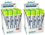 24 cans 2 cases Whip-it! 400ml Premium Refined Butane Fuel Zero Impurities