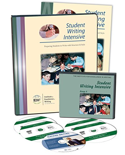 Student Writing Intensive Level A Curriculum (Dvd's, Binder and Packet)