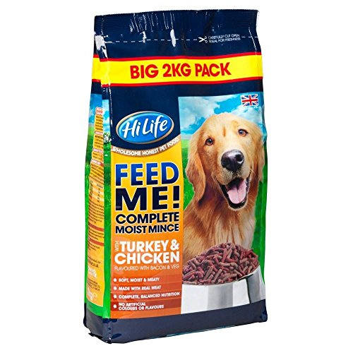 HiLife Complete Moist Rich in Turkey & Chicken flavoured with Bacon (2Kg) ()