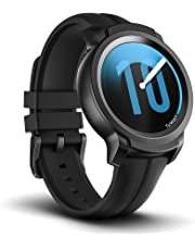 Mobvoi TicWatch E2, Wear OS by Google Fitness smartwatch, 5 ATM Waterproof and Swim-Ready, Compatible with iPhone and Android- Shadow