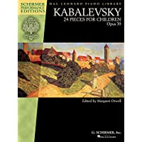 Kabalevsky - 24 Pieces for Children, Opus 39: Schirmer Performance Editions Book Only (Schirmer Performance Editions: Hal Leonard Piano Library)