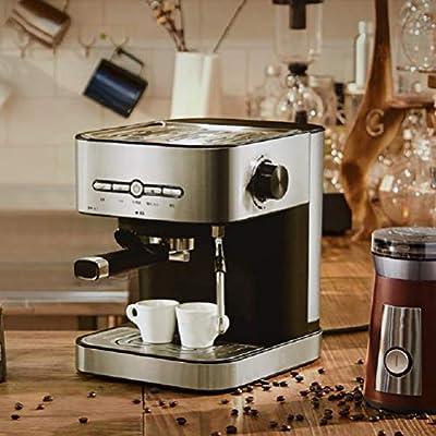 Cafetera espresso,máquina de café espresso15 Bars,Cafetera para Cappuccino,Boquilla de Espuma de Leche Profesional, 1.4L Depósito de Agua,Calentamiento Rápido: Amazon ...