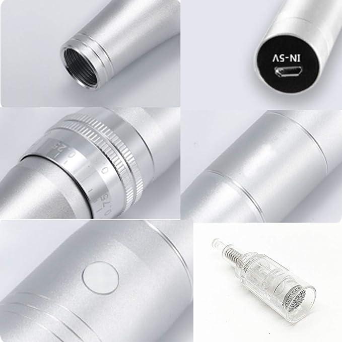 Instrumento eléctrico de micro aguja para el cuidado de la piel ...