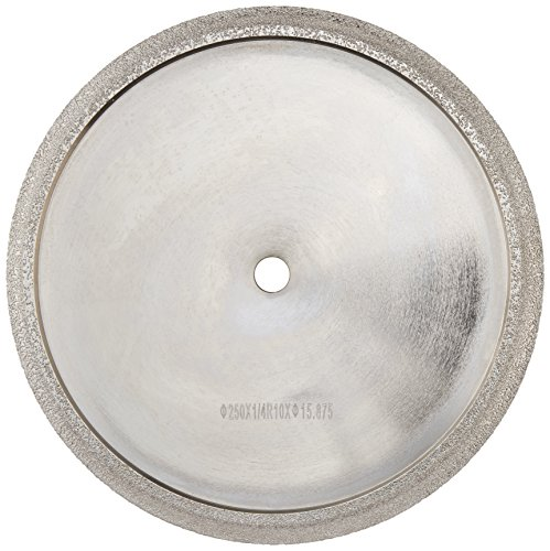 Toolocity PWBT0100  10-Inch Diamond Profile Wheel for Marble /Granite Tile 3/8-Inch Radius