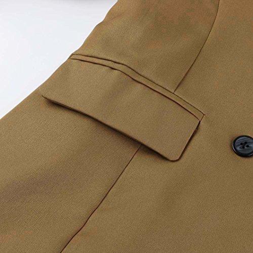 Vintage mi veste saison femme Longra Manteau Blazer blouson V Cardigan 6nExqBUA