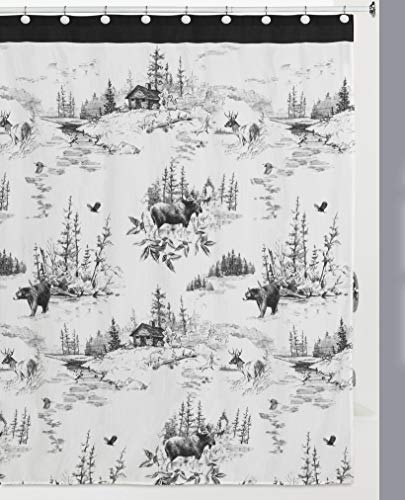 Hautman Brothers Sketches Shower Curtain, Multi