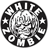 White Zombie Vynil Car Sticker Decal - Select Size