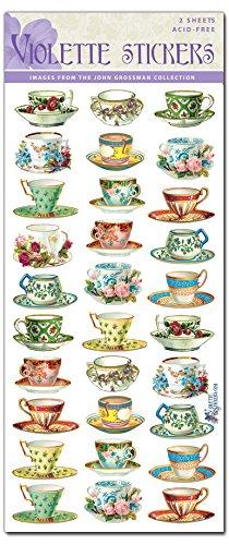 Violette Stickers Mini Teacups