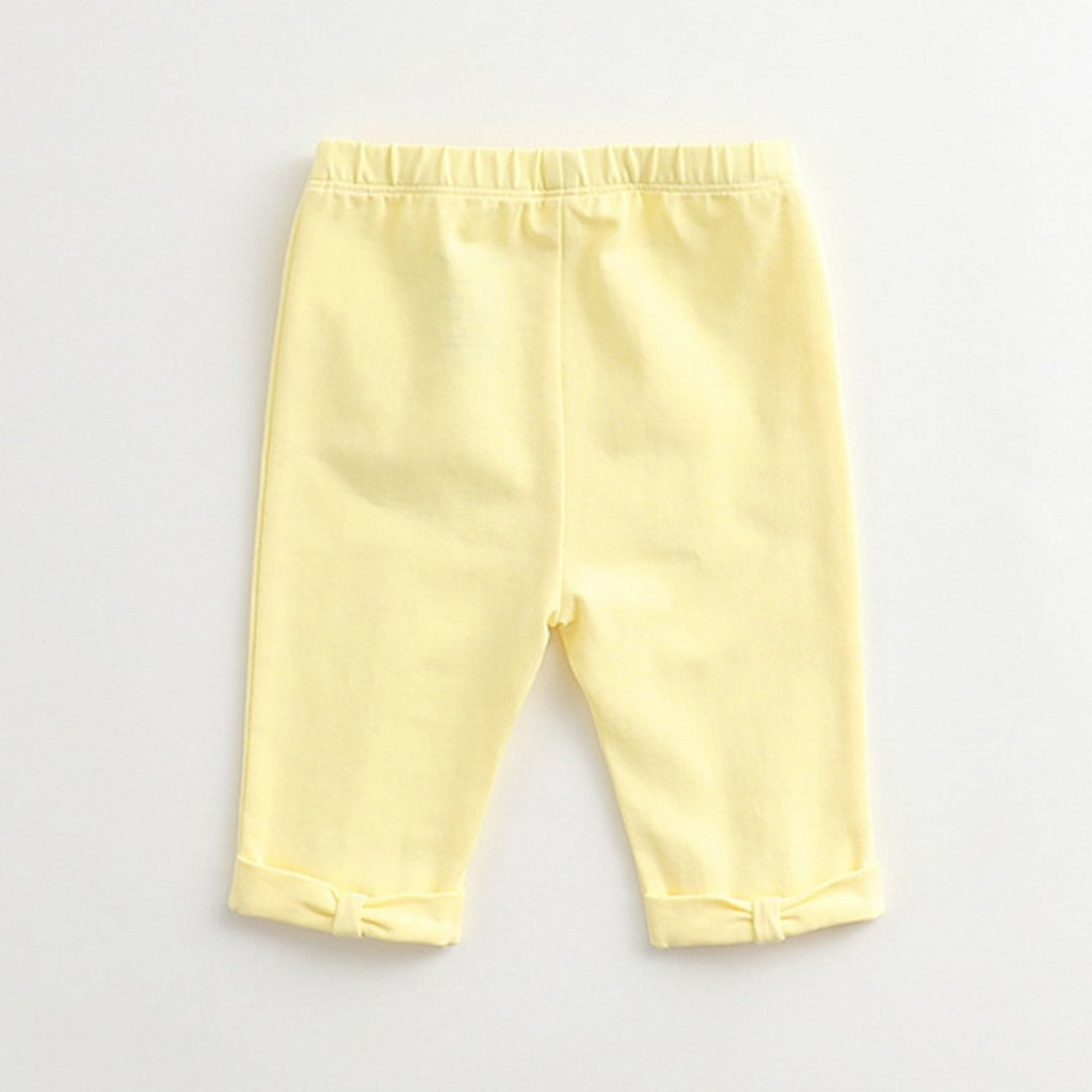 marc janie Little Boys Autumn Embroidery Pants Baby Boys Elastic Trousers
