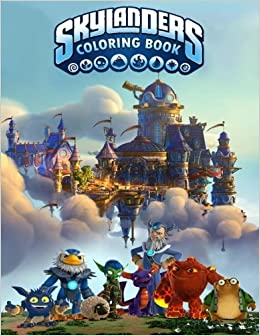 Amazon.com: Skylanders Coloring Book: Coloring Book for Kids and ...