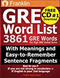 GRE Word List: 3861 GRE Words For High GRE Verbal Score