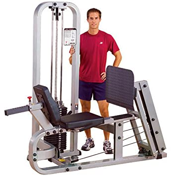 Body-Solid Pro Club Line SLP500G2 Leg Press with 210-Pound Weight Stack