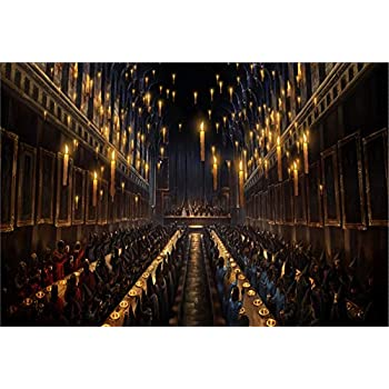 Amazon Com Magic Castle Hogwarts Backdrop Witch Wizard Sorcerer