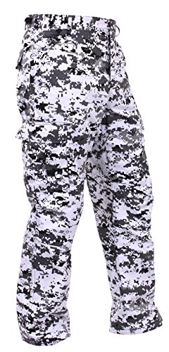 Polyester Digital Camo (Rothco Bdu Pant, City Digital Camo, X-Large)