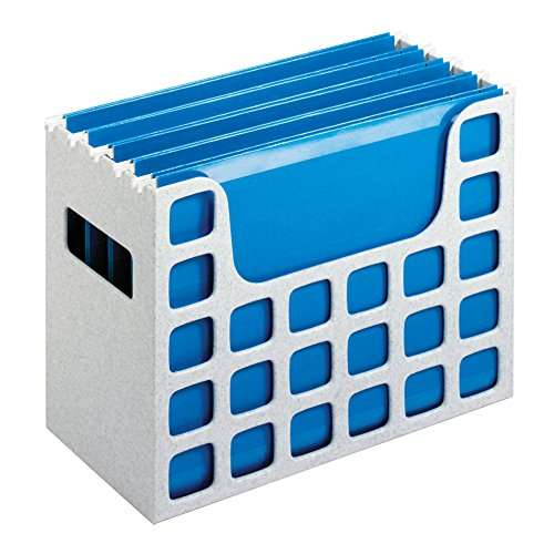 Pendaflex 23054 Desktop File w/Hanging Folders, Letter, Plastic, 12 1/4 x 6 x 9 1/2, Granite (Matt Insert Cd)