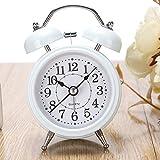 1PCS Minimalist Student Bedroom Mute Little Children Alarm Watch Super Loud Metal Alarm Clock Alarm Clock Fashion Lu606140