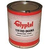 Glyptal 1201 Insulating Enamel, 1 qt, Red