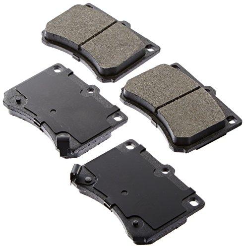 Ford Escort Bendix Brake (Raybestos SGD473C Service Grade Ceramic Disc Brake Pad Set)