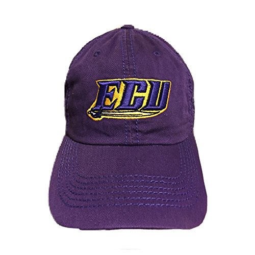 Top of the World NCAA East Carolina Pirates Relaxed Fit Adjustable Hat, Purple, Adjustable