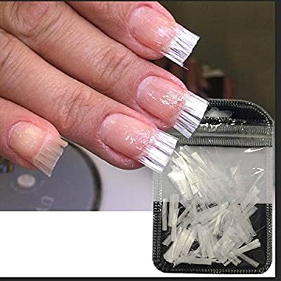 Amazon.com: Nail Art Equipment Fibernails Fiberglass, leegoal Fake ...