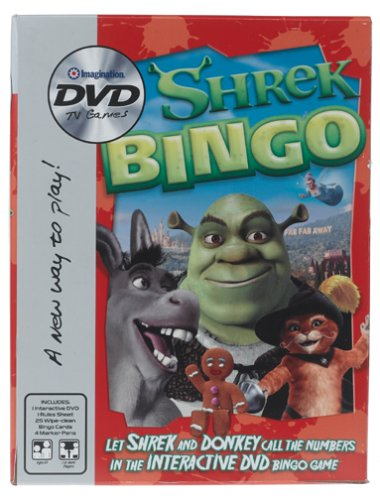 nment Shrek Bingo DVD Game ()