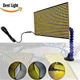 WHDZ LED Double Panel PDR Strip Line Board Paintless Dent Repair Tool Kit Lamp Reflective Borde 5v USB PDR lamp Board