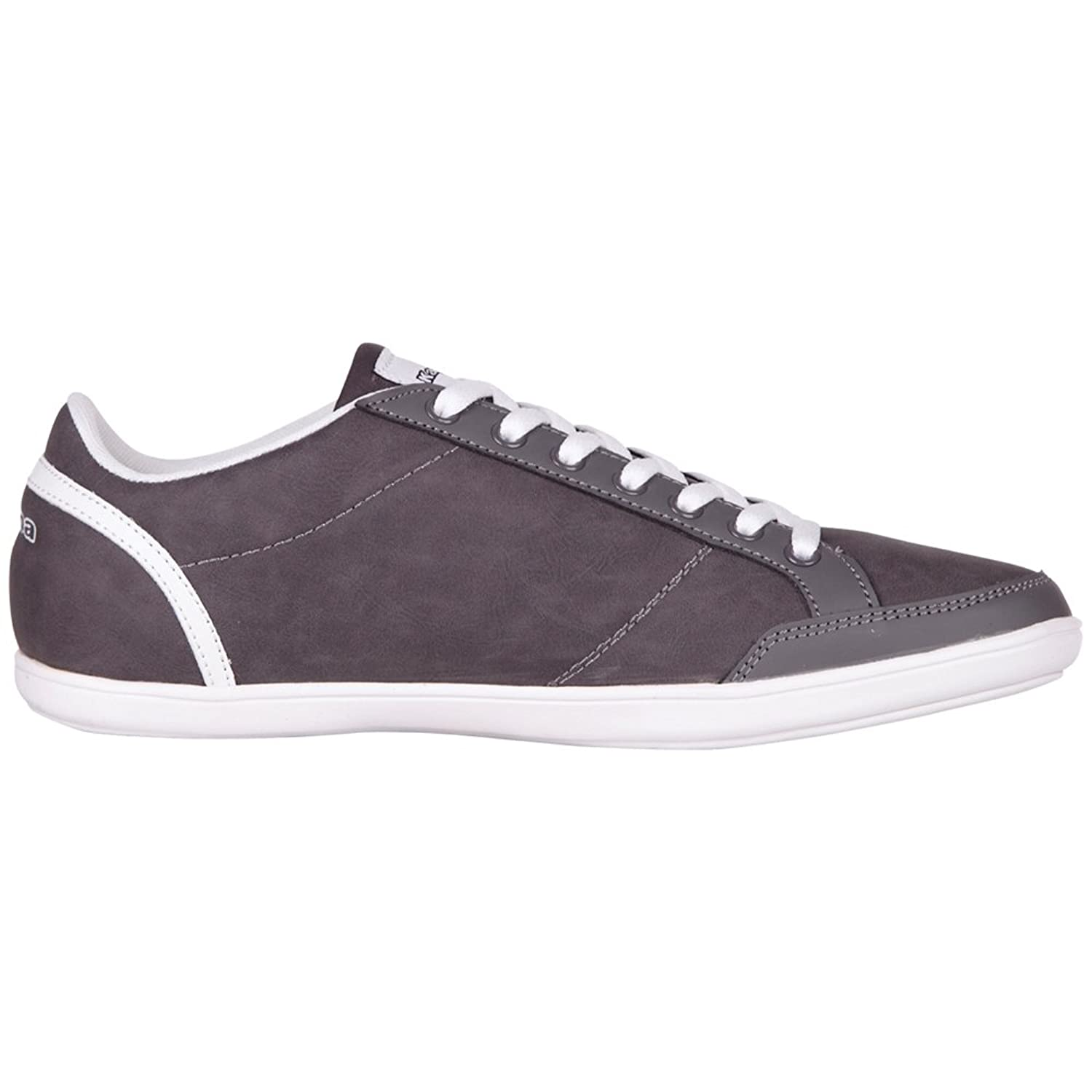 Kappa Kent Low Footwear Men, Synthetic - Zapatillas, color Gris (Grey/White 1610), talla 40 EU (6.5 Herren UK)
