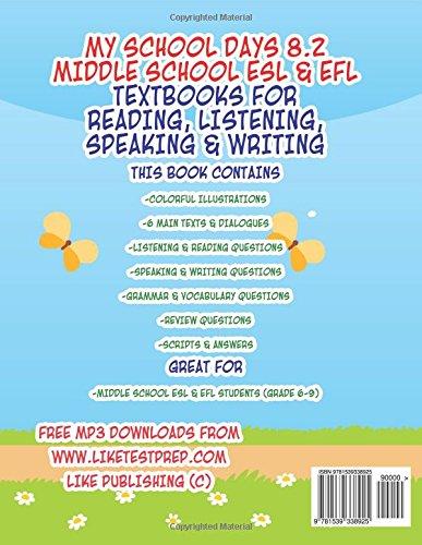 My School Days 82 Middle School Esl Efl Middle School Esl Efl