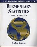 Elementary Statistics 9780534371548