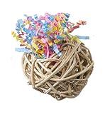 Super Bird Creations Fiesta Ball Stuffers Bird Toy, 3-Pack