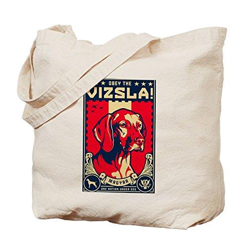 CafePress–American Vizsla- obedecer la V.–gamuza de bolsa de lona bolsa, bolsa de la compra