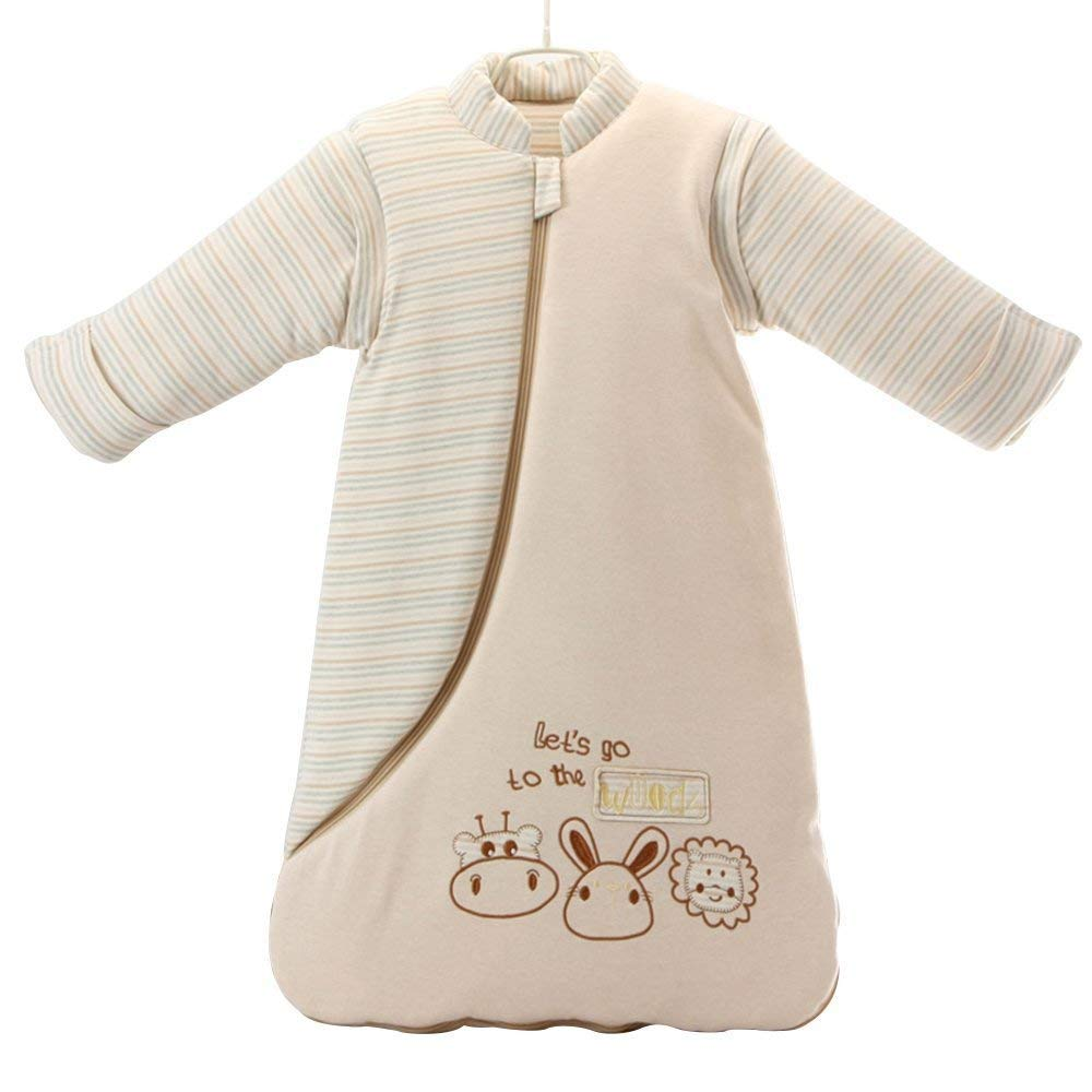 EsTong Unisex Baby Sleepsack Wearable Blanket Cotton Long Sleeve Sleeping Bag horse//3.5 Tog L//2-4 years