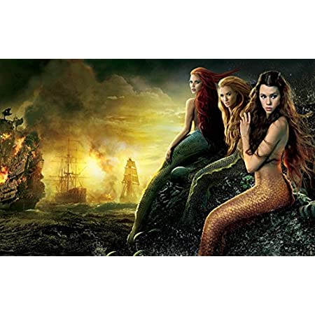 512HYFBCkSL._SS450_ Mermaid Wall Art and Mermaid Wall Decor
