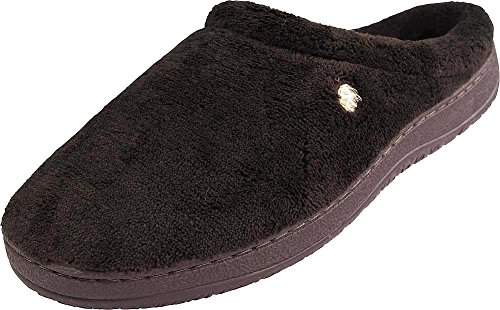 Perry Ellis Mens Clog Slippers