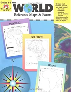 Buy blank map outlines united states and world book online at low the world reference map forms world gumiabroncs Image collections