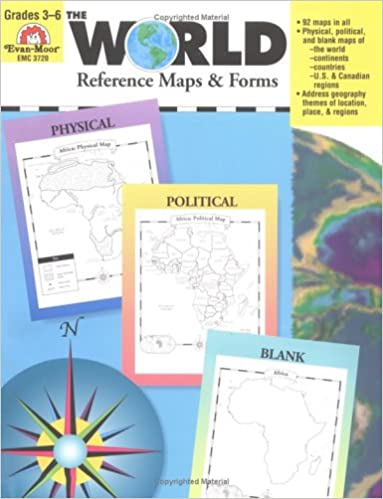 Amazon.com: The World Reference & Map Forms (World & Us Maps ...