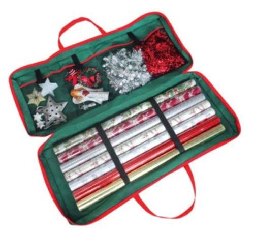 MTS Große Tasche für Geschenkpapier / Weihnachtsdeko, für ordentliche Aufbewahrung