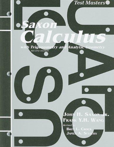 master calculus - 2