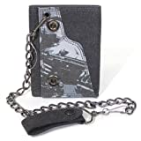 Wallet - Halo 3 - Armed Master Chief Black w/ Chain