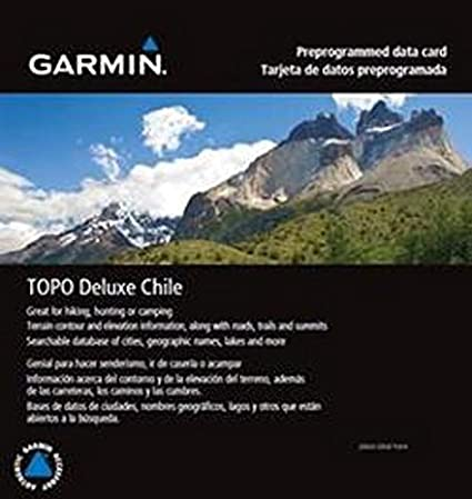 Amazon.com: Garmin TOPO Deluxe Chile microSD/SD card, 010 ...